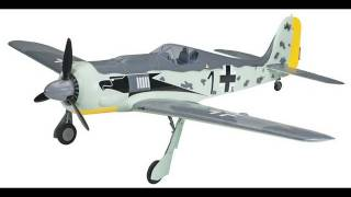 The Flyzone RTF Focke Wulf 190 RC Plane Review and Maiden Flight