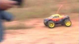 Tyrannosaurus Dirt n Grass Field 4WD Power
