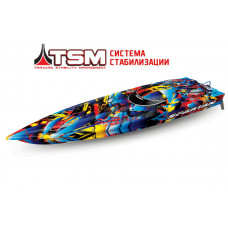 Радиоуправляемый катер TRAXXAS Spartan TSM (ready to Bluetooth module)