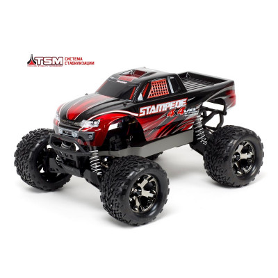 Stampede 4x4 VXL Brushless 1/10 RTR Fast Charger TSM