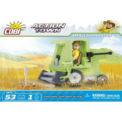 Конструктор COBI SMALL  HARVESTER