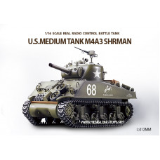Танк Heng Long US Sherman M4A3 3898-1